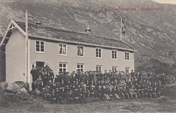 Fra Folkeafstemningen i Sundalen 1905