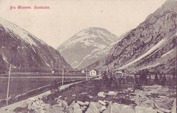 Fra Gravem, Sundalen.