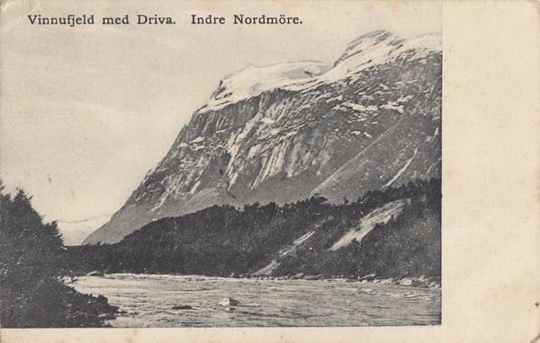 Vinnufjeld med Driva. Indre Nordmöre.
