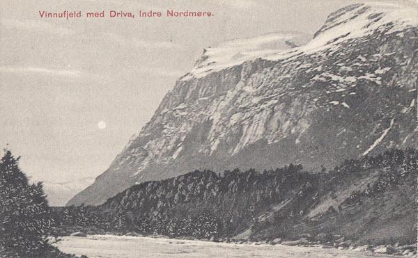 Vinnufjeld med Driva, Indre Nordmøre.