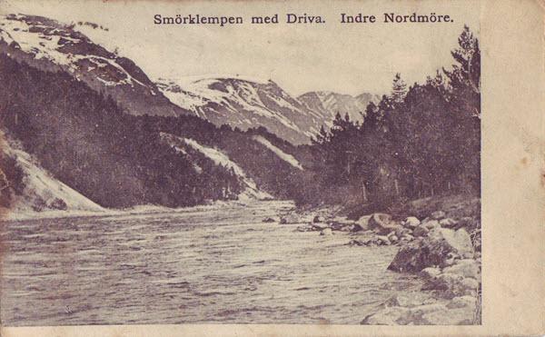 Smörklempen med Driva. Indre Nordmöre.