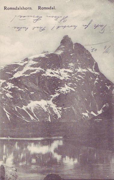 Romsdalshorn. Romsdal.