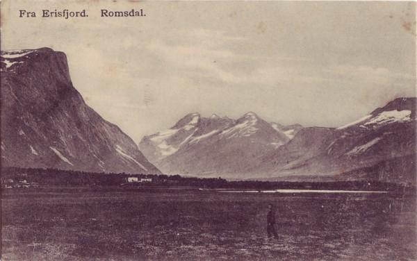 Fra Erisfjord. Romsdal.