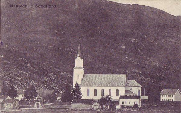 Naustdal i Söndfjord.
