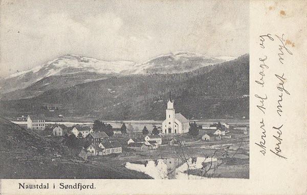 Naustdal i Søndfjord.