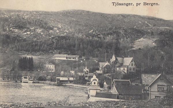 Tjösanger, pr Bergen.