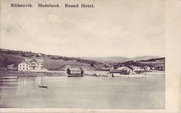 Röikenvik. Hadeland. Roand Hotel.