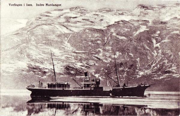Vøringen i Isen, Indre Hardanger.