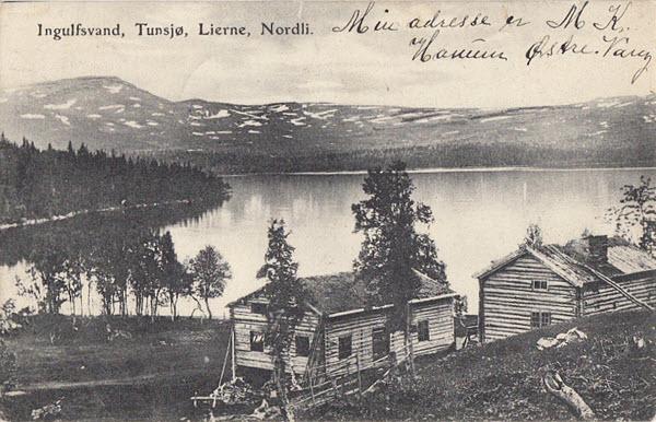 Ingulfsvand, Tunsjø, Lierne, Nordli.