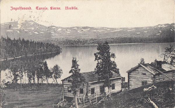 Ingulfsvand. Tunsjø, Lierne, Nordlie.