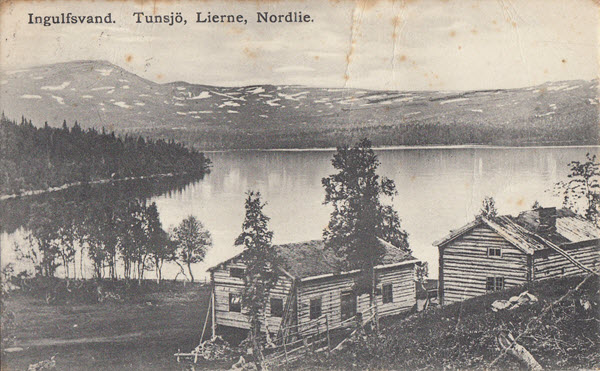Ingulfsvand. Tunsjö, Lierne, Nordlie.
