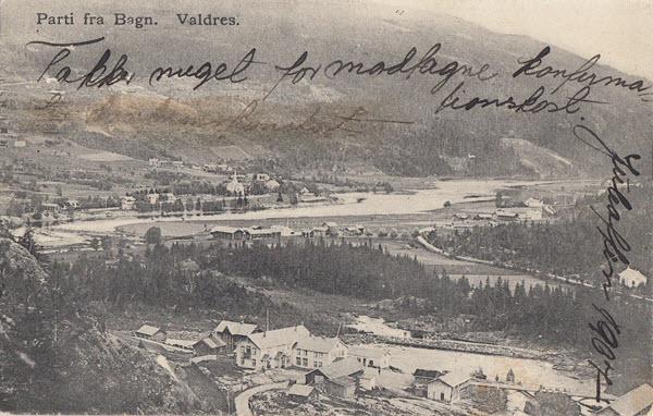 Parti fra Bagn. Valdres.