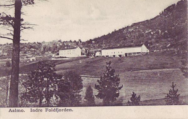 Aalmo. Indre Foldfjorden.