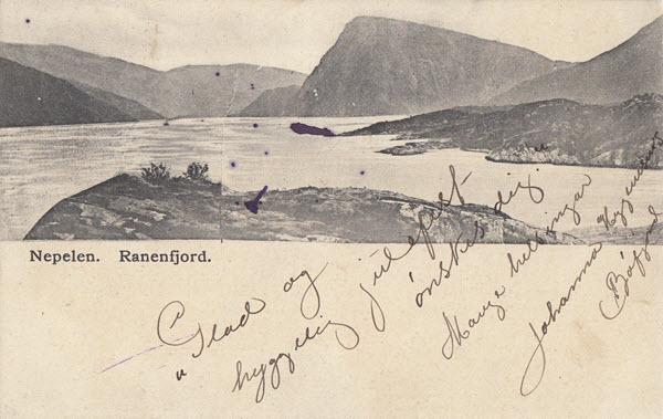 Nepelen. Ranenfjord.