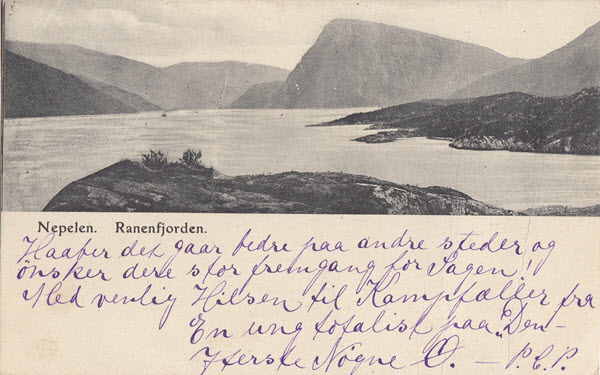 Nepelen. Ranenfjorden.