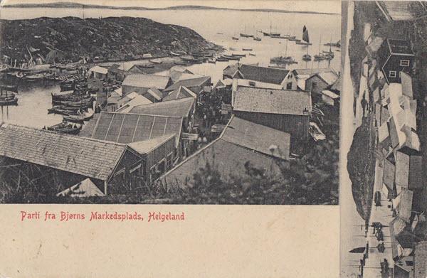 Parti fra Bjørns Markedsplads, Helgeland