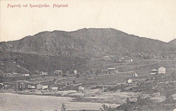 Fagervik ved Ranenfjorden. Helgeland