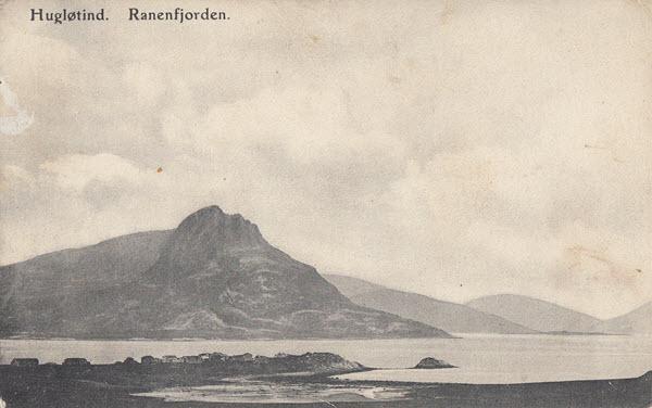 Hugløtind. Ranenfjorden.