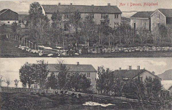 Hov i Dønnes, Helgeland