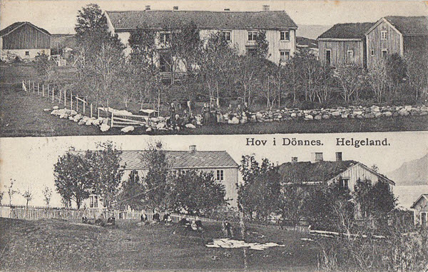 Hov i Dönnes. Helgeland.