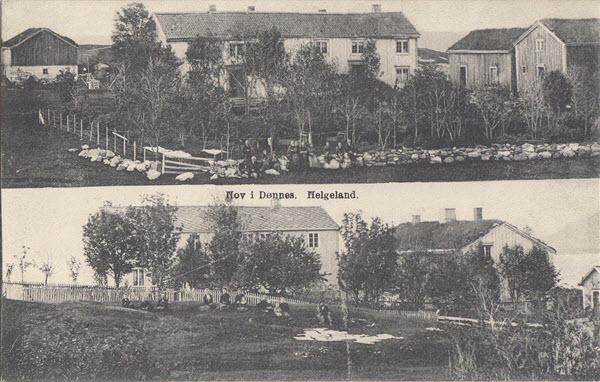 Hov i Dønnes. Helgeland.