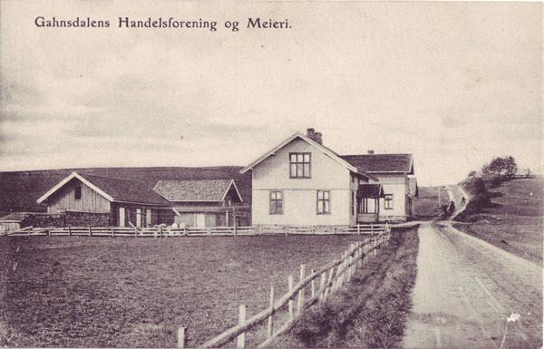 Gahnsdalens Handelsforening og Meieri.