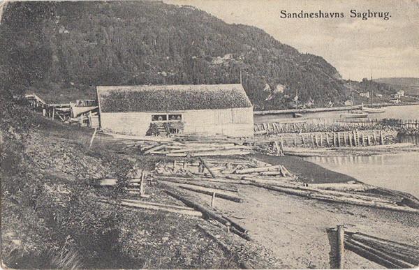 Sandneshavns Sagbrug.