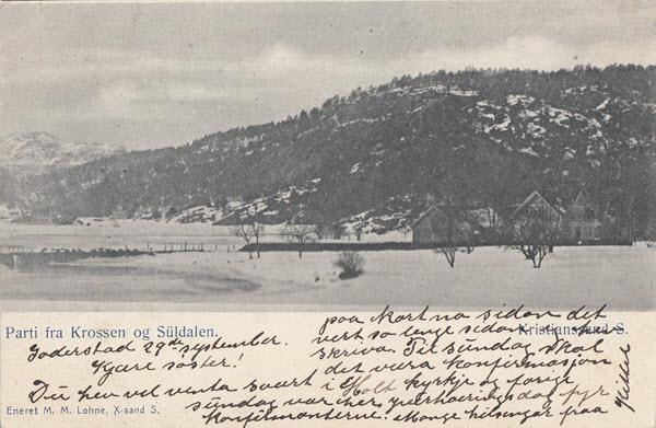 Parti fra Krossen og Süldalen. Kristanssand S.