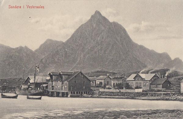 Sunderø i Vesteraalen