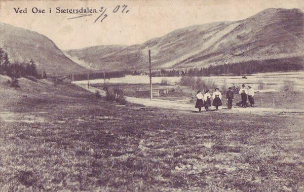 Ved Ose i Sætersdalen.