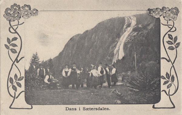 Dans i Sætersdalen.