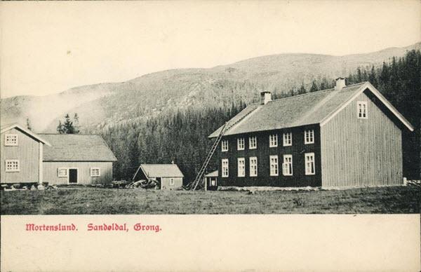 Mortenslund, Sandøldal, Grong.
