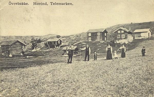 Övrebakke. Hovind, Telemark.