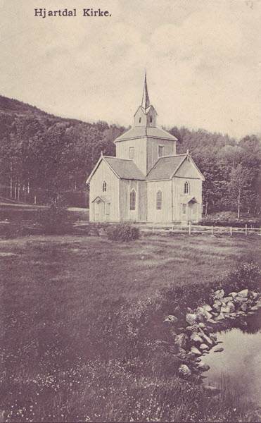 Hjartdal Kirke.