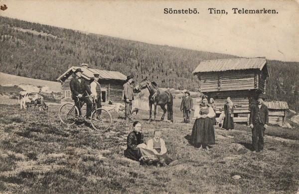 Sönstebö. Tinn, Telemarken.