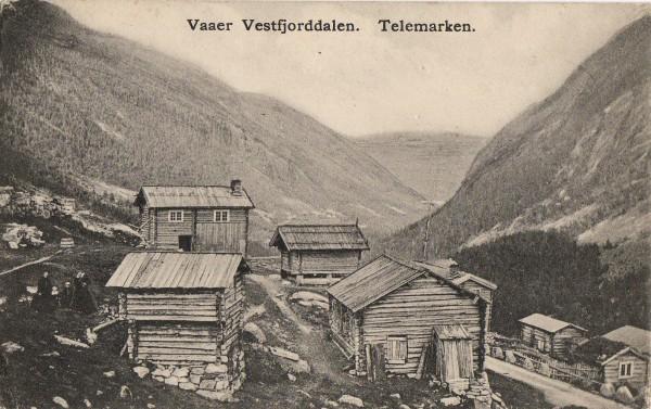 Vaaer Vestfjorddalen. Telemarken.
