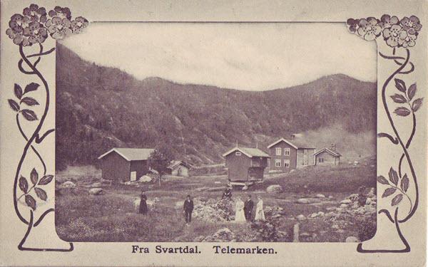 Fra Svartdal. Telemarken.