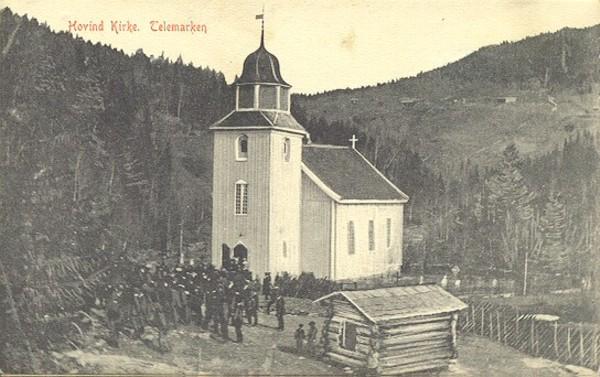 Hovind Kirke. Telemarken.