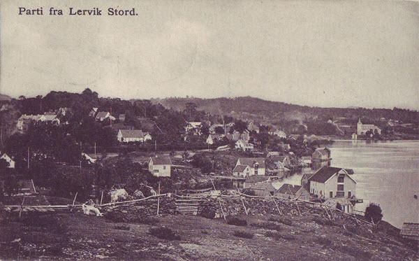 Parti fra Lervik Stord.