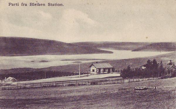 Parti fra Bleiken Station.