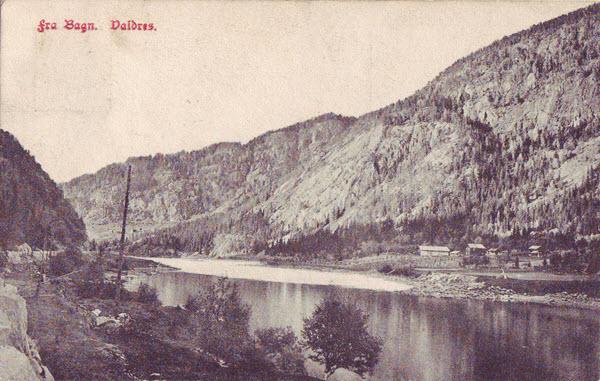 Fra Bagn. Valdres.