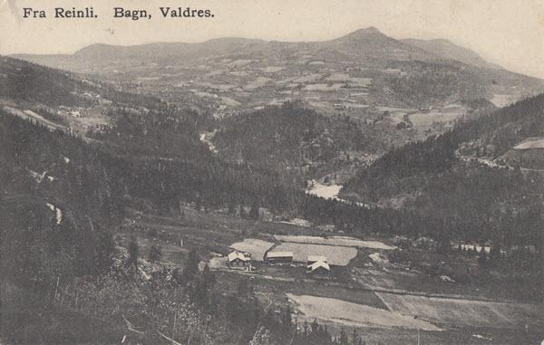 Fra Reinli. Bagn, Valdres.