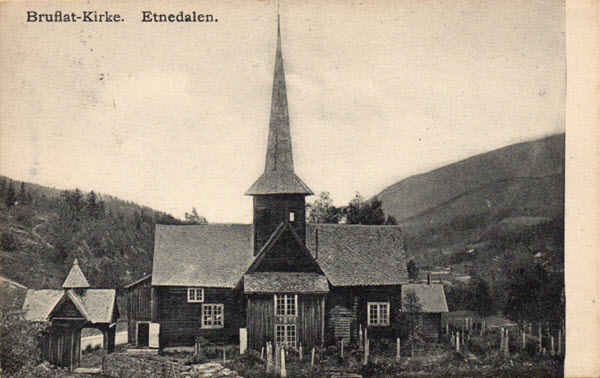 Bruflat-Kirke. Etnedalen.