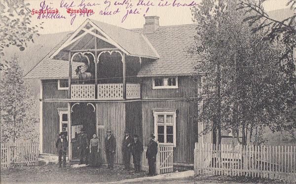 Fagerlund. Etnedalen