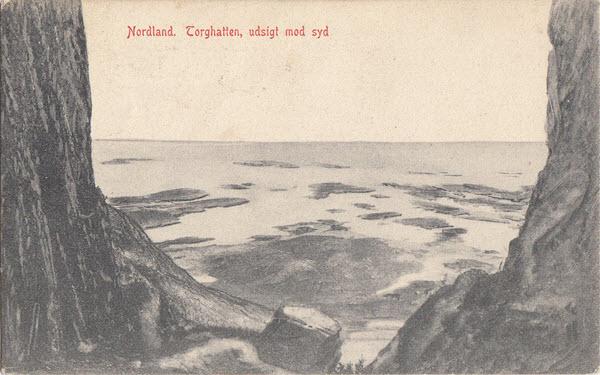 Nordland. Torghatten, udsigt mod syd
