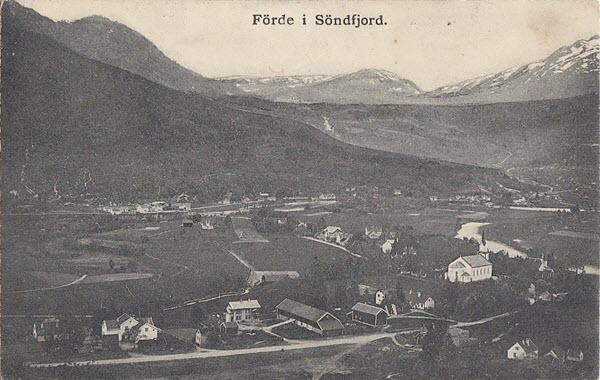 Förde i Söndfjord.