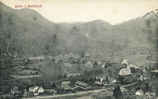 Førde i Søndfjord.