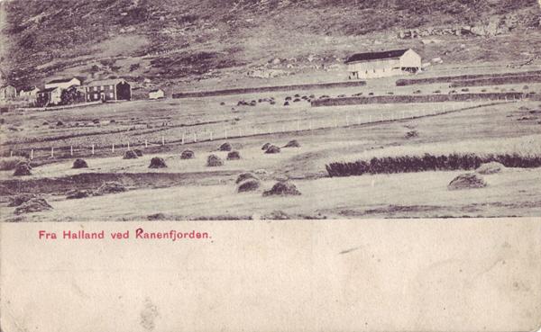 Fra Halland ved Ranenfjorden.