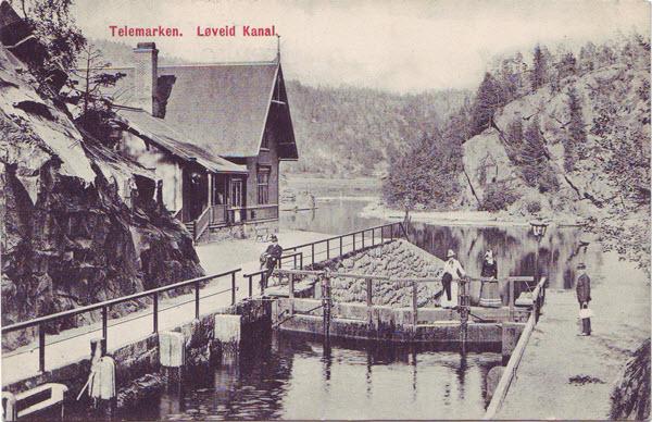 Telemarken. Løveid Kanal.