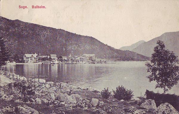 Sogn. Balholm.